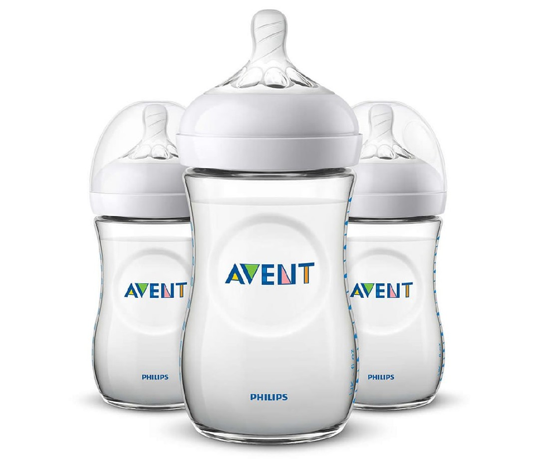 Philips Avent Natural Baby Bottle (Pack of 3)