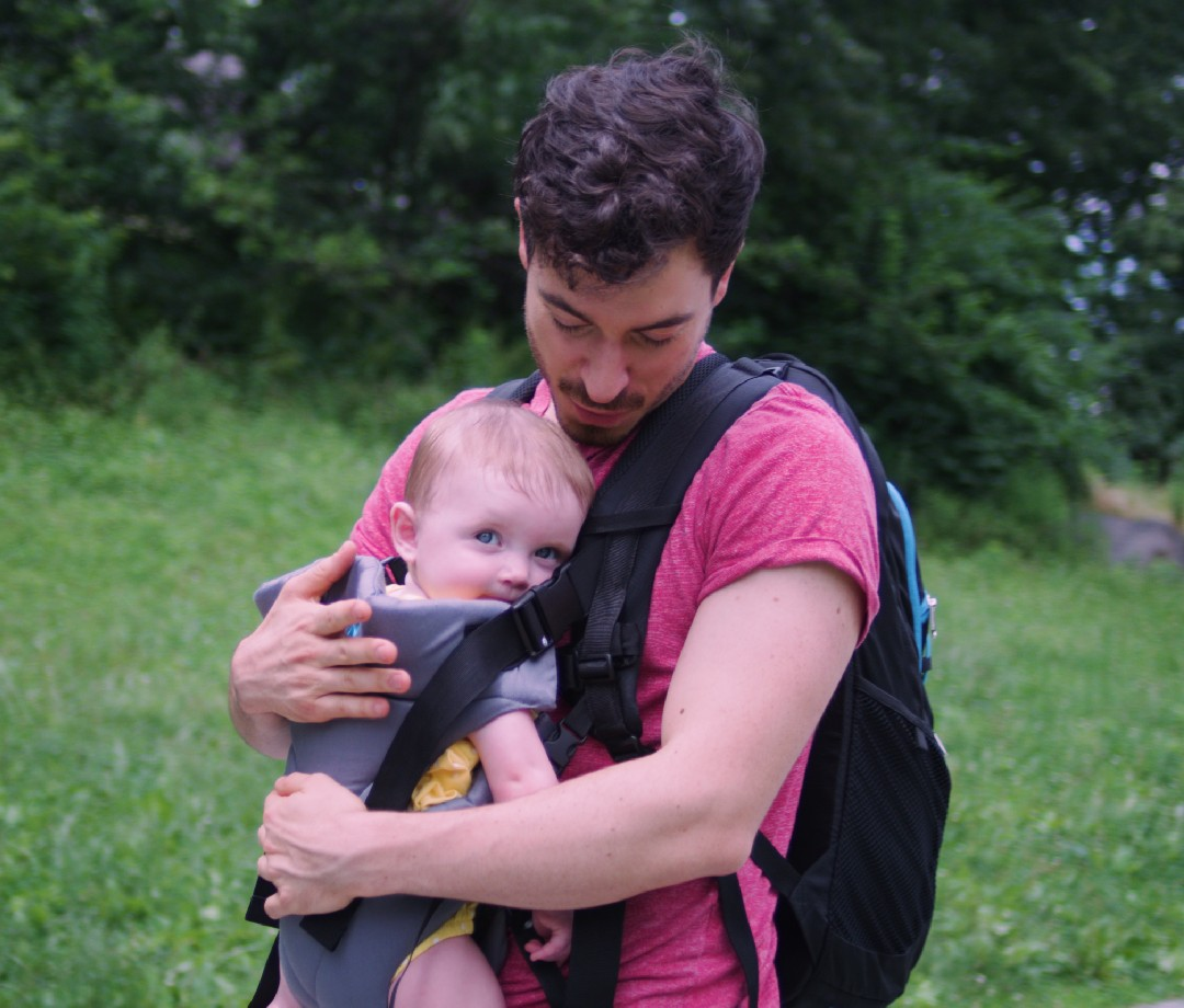 JP Outdoor Co. CoPilot CarrierPak — 3-in-1 Baby Carrier, Diaper Bag, and Backpack: Best Gifts for New Dads