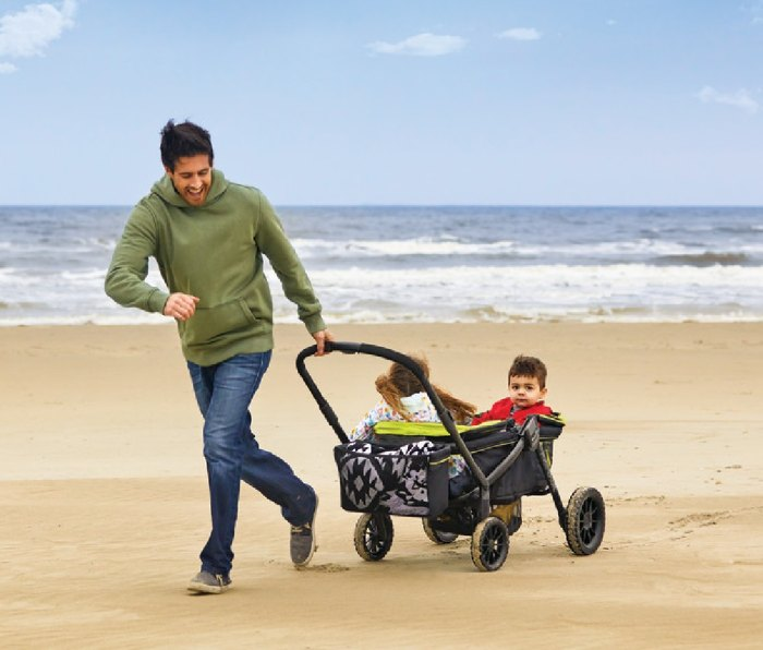 Evenflo Pivot Xplore All-Terrain Stroller Wagon: Best Gifts for New Dads