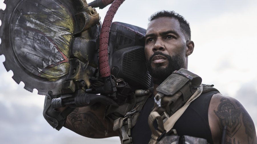 Omari Hardwick plays a chainsaw-wielding, zombie-killing philosopher in 'Army of the Dead.'