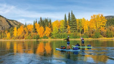 Head north to river-tripping paradise and a standup style of wilderness voyage.