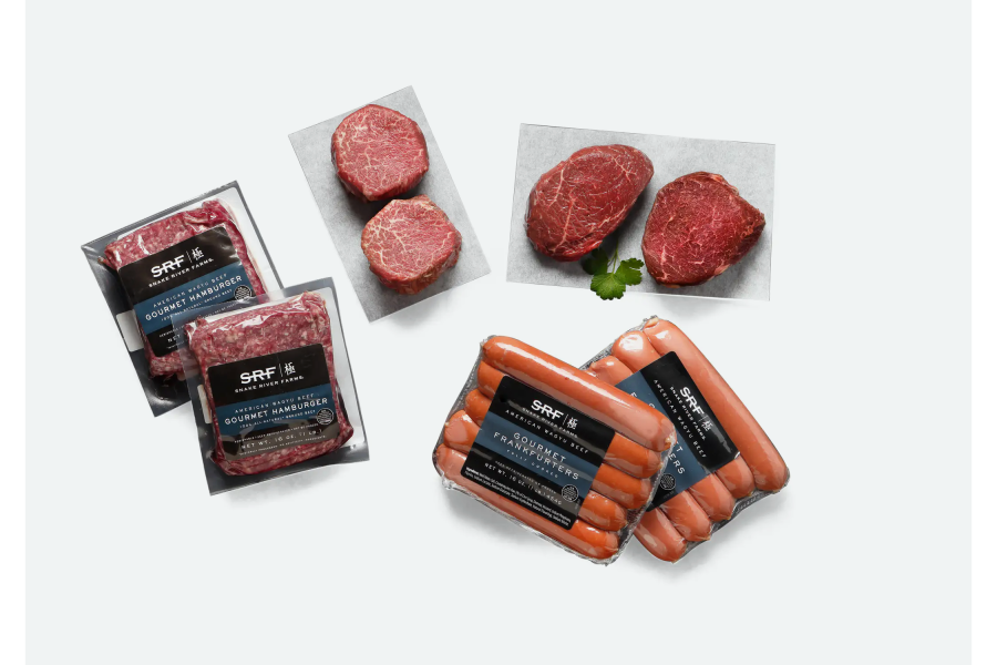 Snake River Farms American Wagyu Grilling Pack