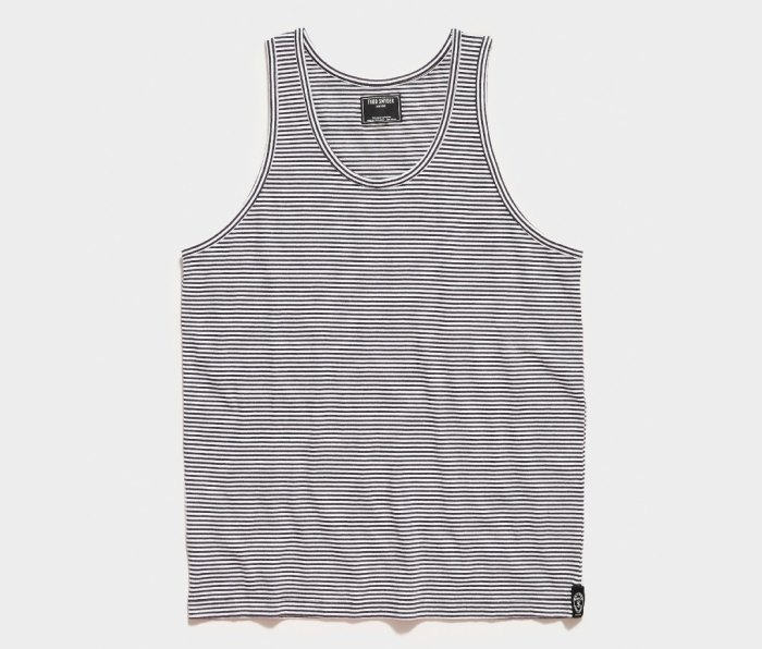 Todd Snyder Striped Tank Top
