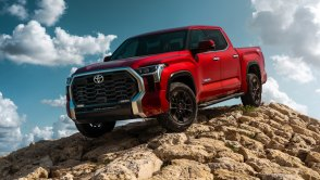 2022 Toyota Tundra TRD Pro driving off road
