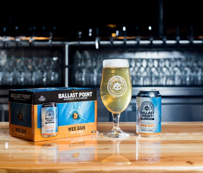 Ballast Point Brewing Wee Gus lager