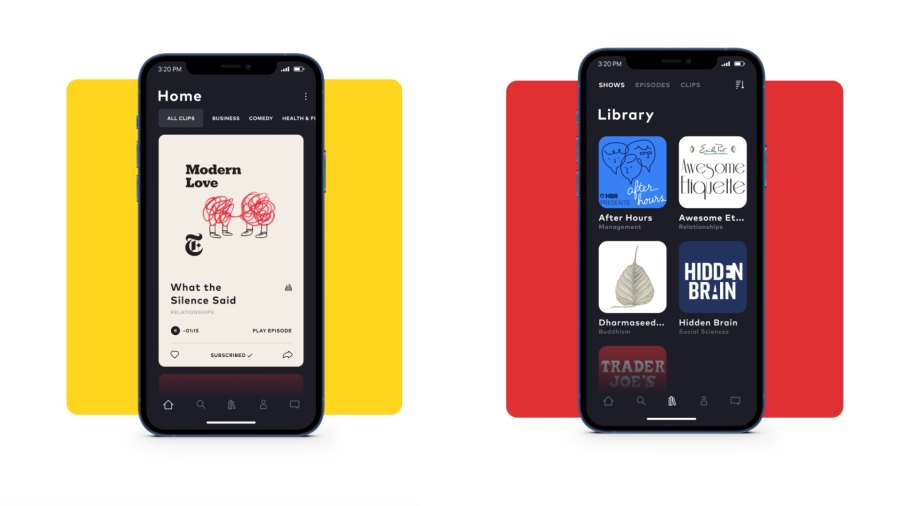 Moonbeam app discovers podcasts