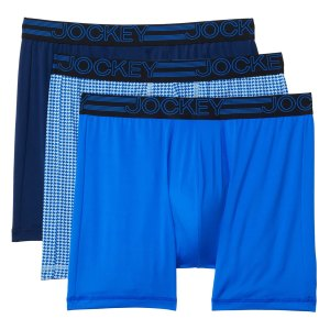 Jockey Active Micro Midway Boxer Brief 3-Pack