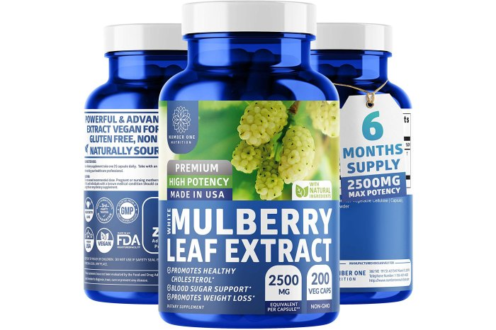 N1N White Mulberry Leaf Extract