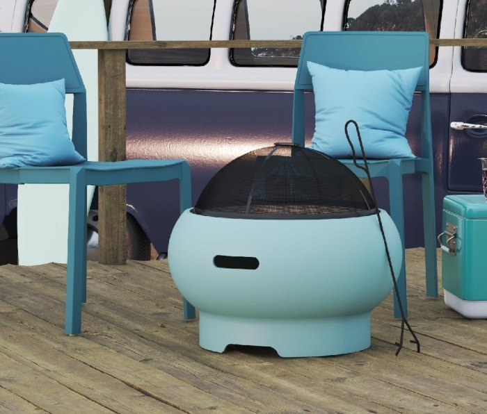 """Asher 22"""" Wood-Burning Fire Pit"""