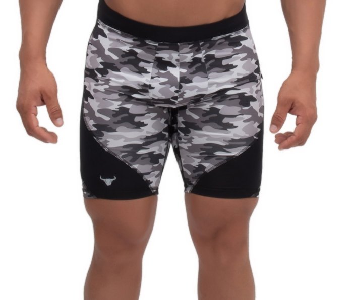 The sustainably-sourced high-performance, super lightweight fabric in the Matador Meggings Compression Shorts features four-way stretch, as well as sweat-wicking properties.