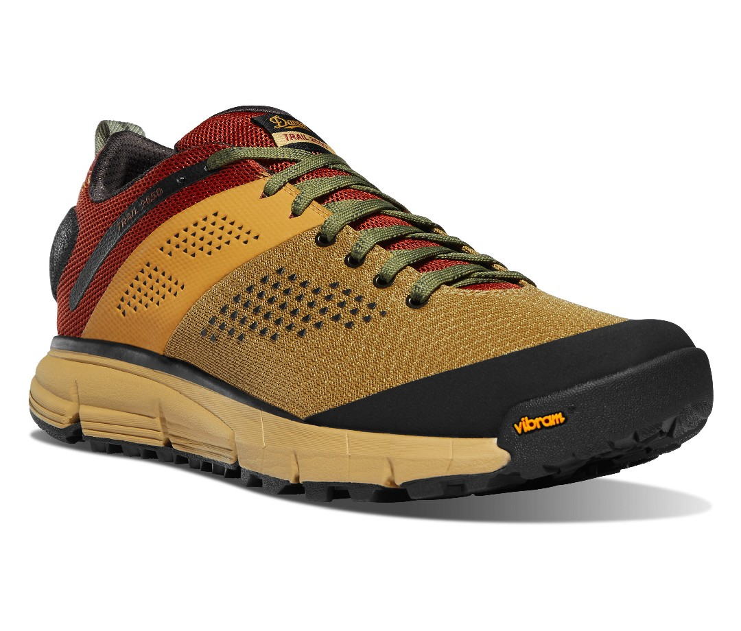 Danner's 2650 line produces the best trail shoes I've ever owned, bar none. They're light, durable, comfy enough for camp and stout enough for the trail, plus the Vibram soles provide superior grip to any shoe I've tested.