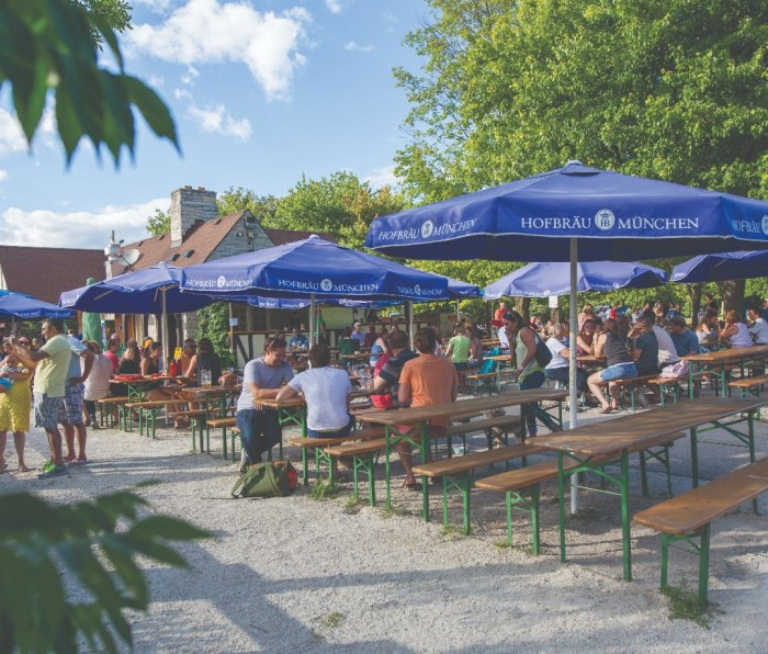 When Estabrook Beer Garden first debuted, it marked America's first truly public beer garden in nearly 100 years.