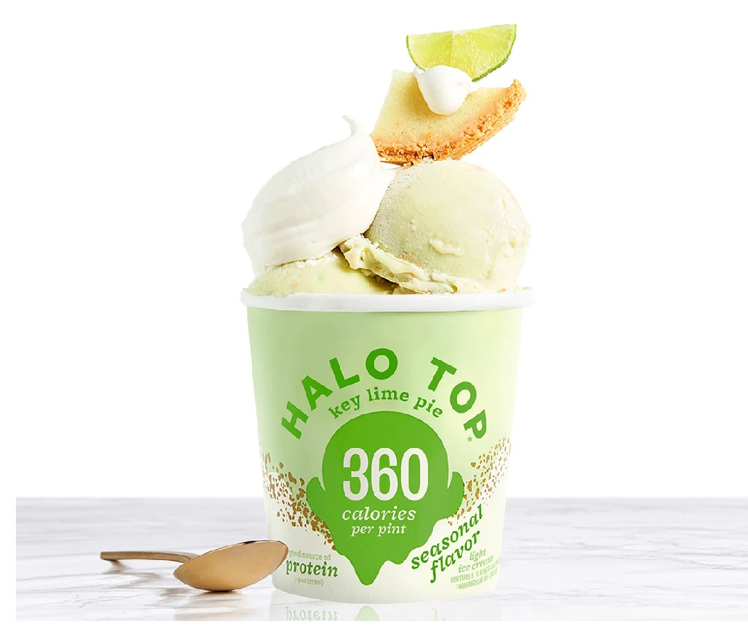 Halo Top's mission was to create a better ice cream for you so you could eat more of it - that's why they think you can enjoy the whole pint! Their line of light ice creams are all between 280-380 calories for the entire pint and come in a ton of flavors to enjoy.