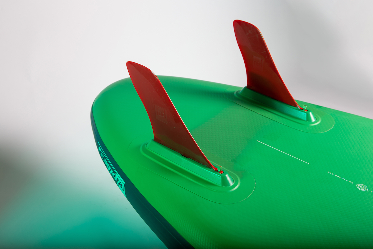 Voyager twin fins