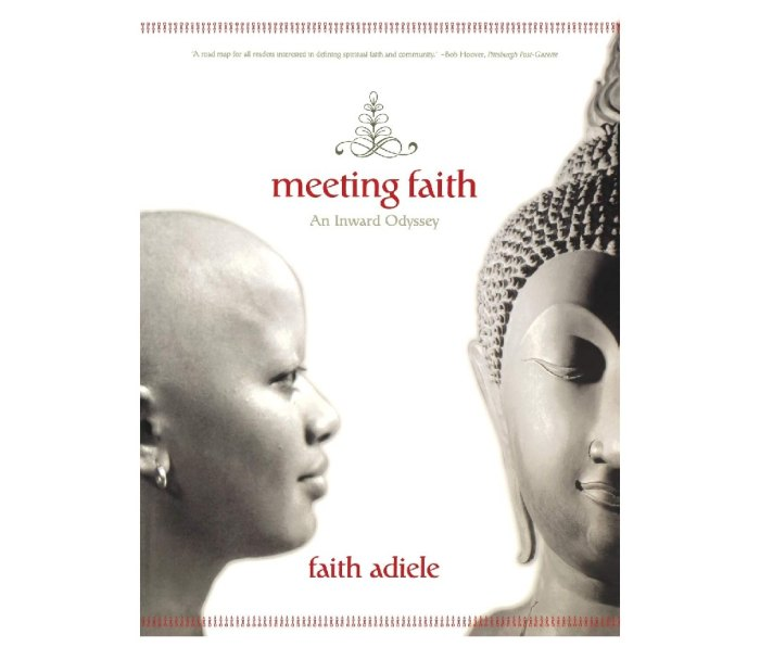 The cover of Meeting Faith: The Forest Journals of a Black Buddhist Nun by Faith Adiele