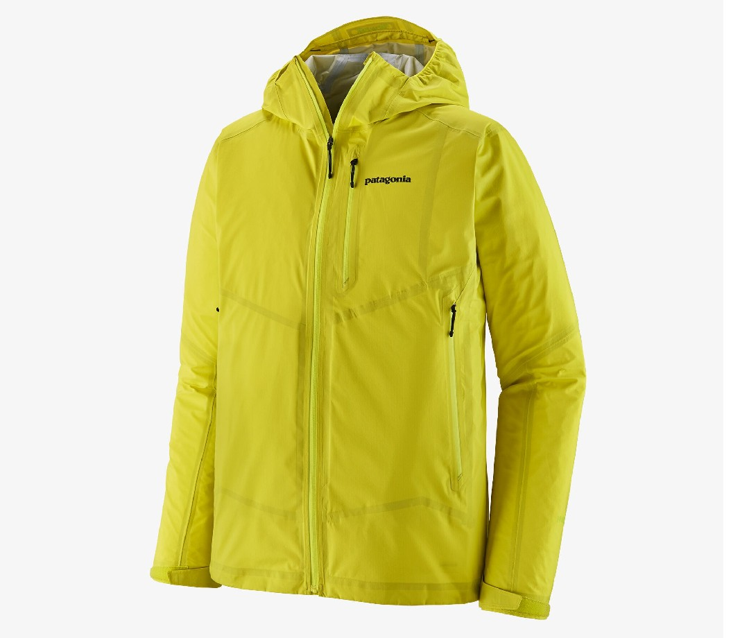 Patagonia's latest contribution to my backpacking wardrobe, the Storm 10, is a ultralight rain shell that's kept me dry during some torrential High Sierra showers this summer. Weighing in remarkably light at 8.3 ounces, it takes up minimal space in my pack.