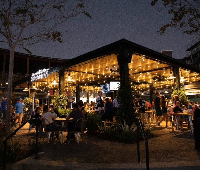 Nestled in the center of Sparkman Wharf in downtown Tampa's new Water Street neighborhood, Fermented Reality Biergarten has quickly become a fan favorite with locals and tourists alike.