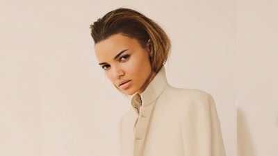 Portrait of actress and Latin Grammy nominee Leslie Grace