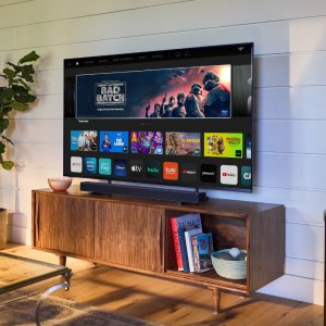The new Vizio M-Series line of TVs and sound bars are a budget-friendly way to instantly upgrade your home theater.
