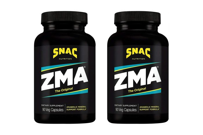 SNAC ZMA Recovery and Sleep Supplement
