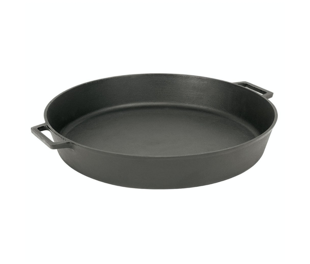 Best for Big Meals: Bayou Classic 20-inch Cast Iron Skillet