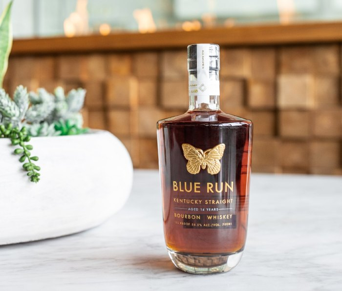 Blue Run 14-Year-Old on table