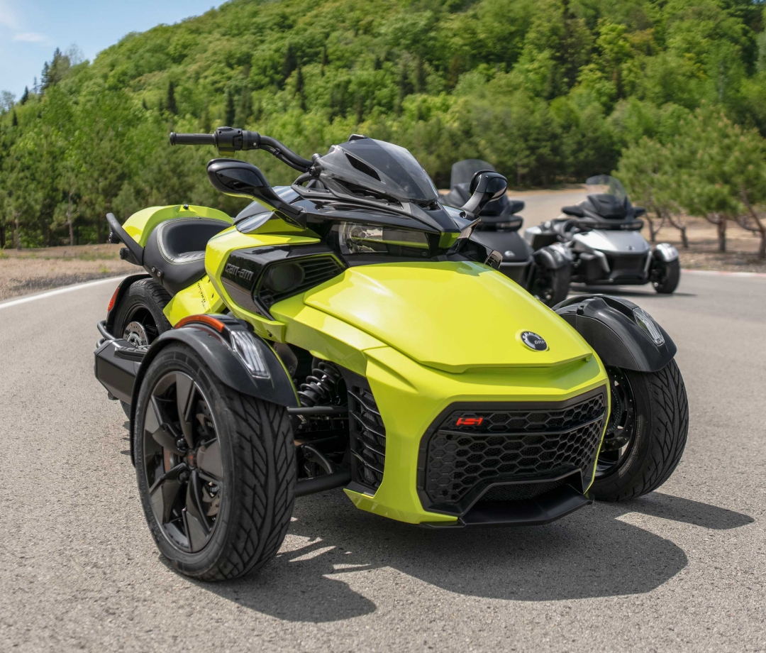 The 2022 Can-Am Spyder F3-S