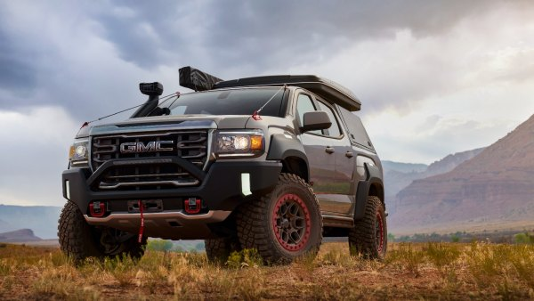 New Concept for GMC Canyon AT4 Pickup