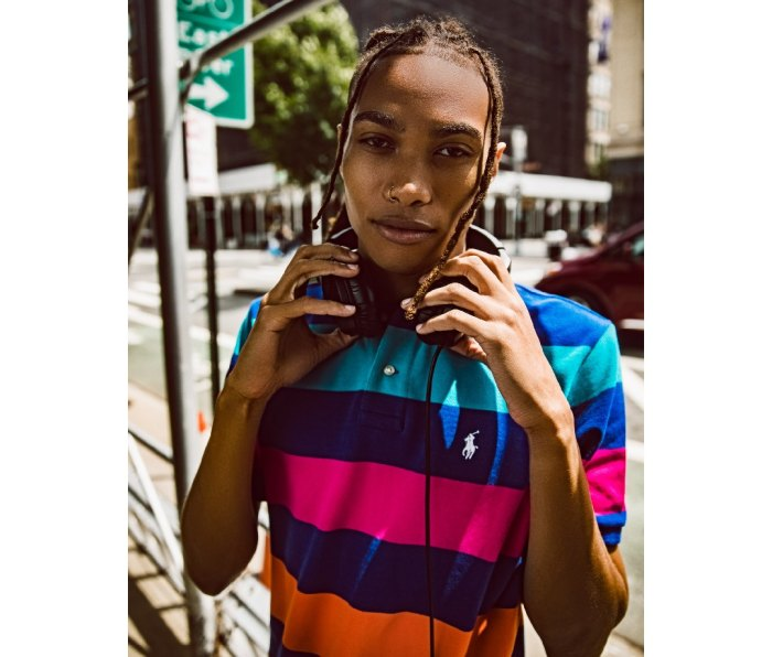 Seth Hill models new Polo Men's x Macy's Spectre 2 collection