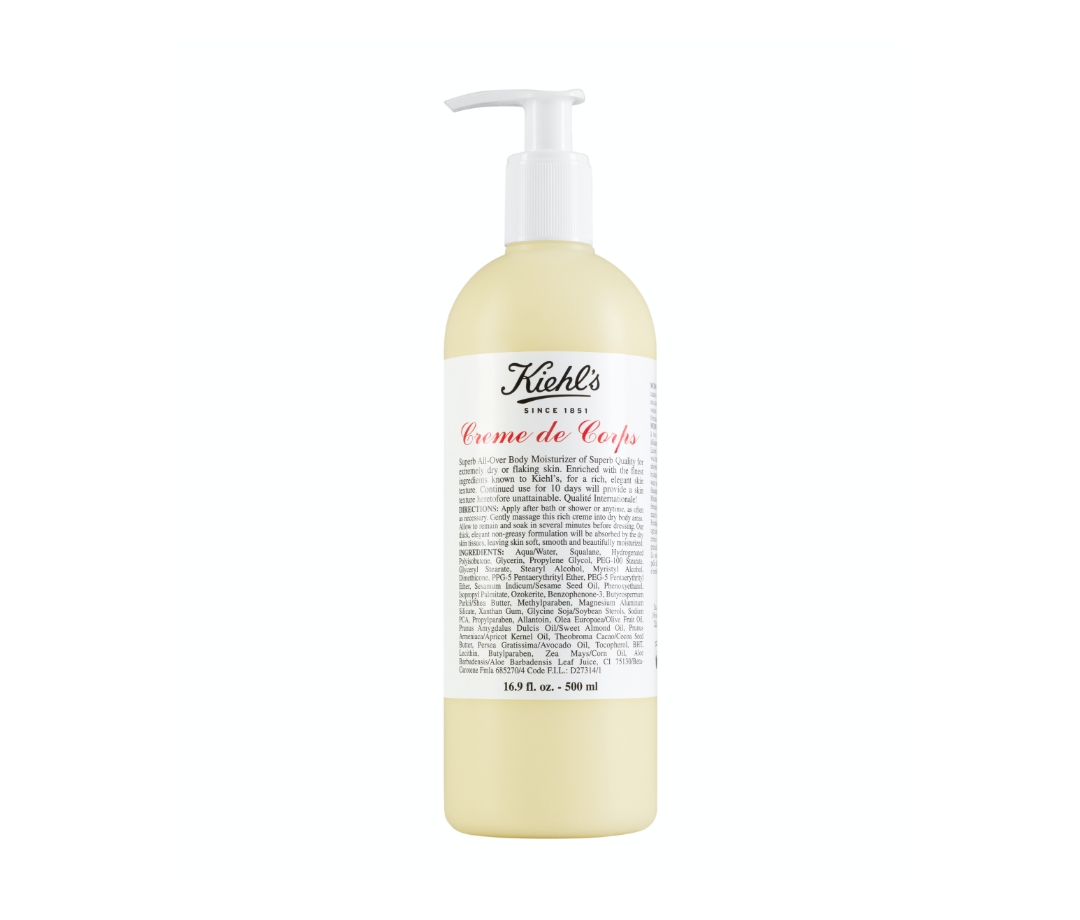 Kiehl's Creme de Corps Body Lotion With Cocoa Butter body lotions
