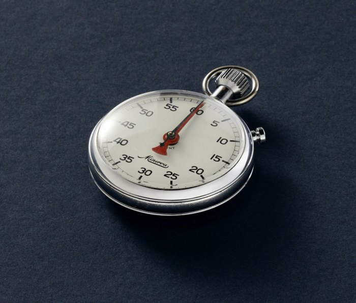 Tracksmith x Wind Vintage collection stopwatch