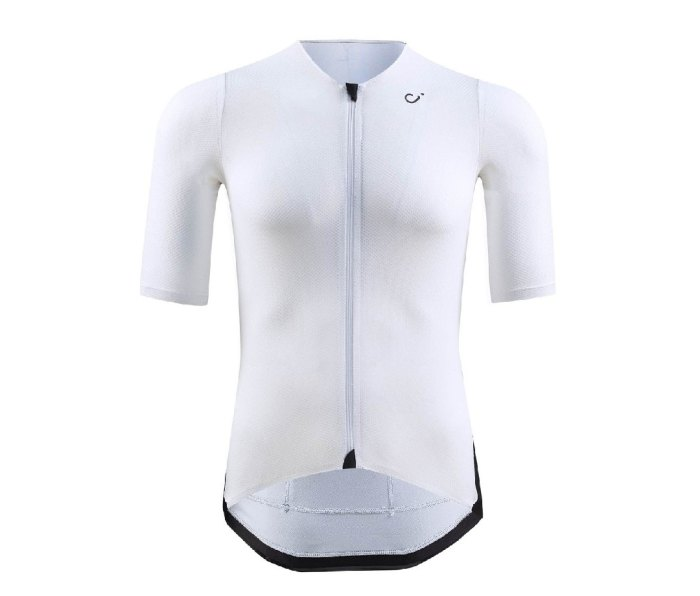 An image of a white Velocio Concept radiator suit.