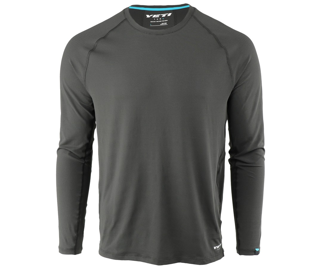 An image of a Yeti Turq Air LS Jersey in slate.