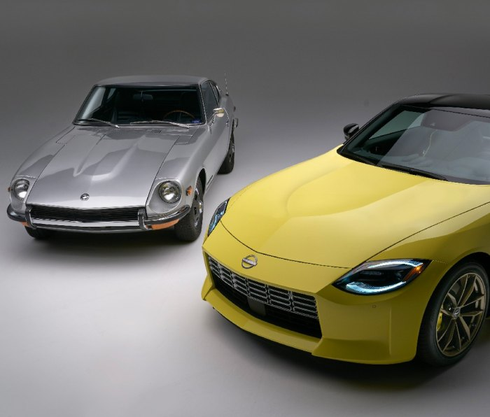 Past and present Nissan Z models