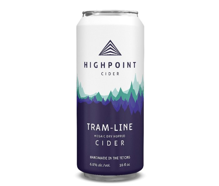 Can of Highpoint Tram-Line cider