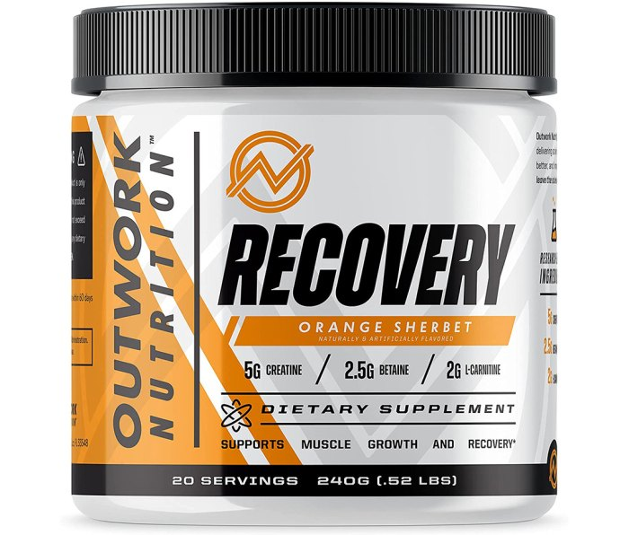 Outwork Nutrition Recovery Supplement