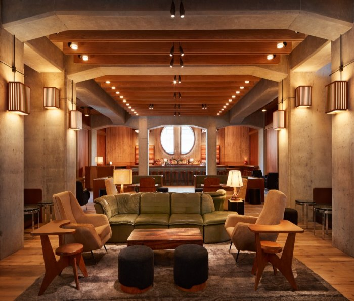 Lobby of the Ace Hotel