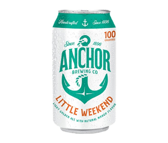12 oz can of Anchor Little Weekend beer