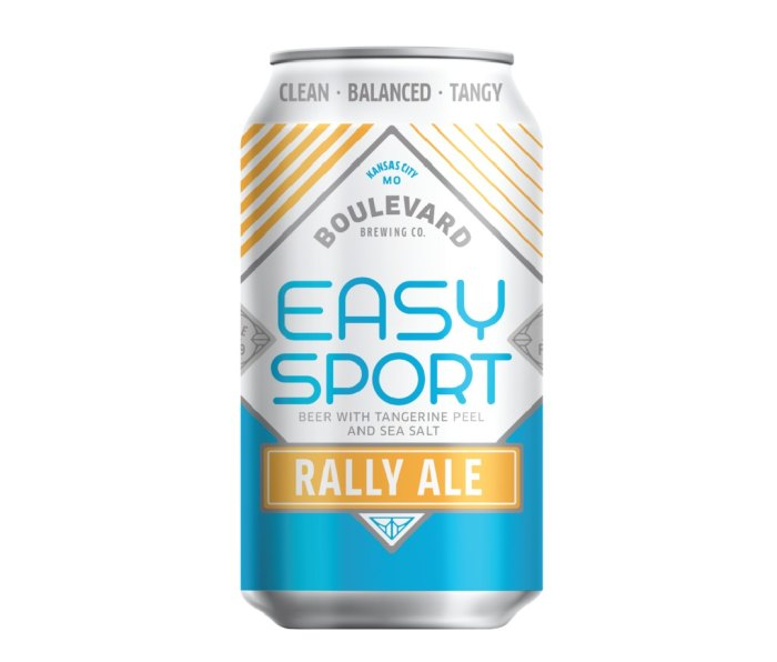 12 oz can of Boulevard Easy Sport Rally Ale