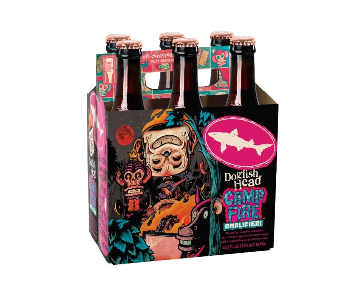 Dogfish Head Camp Amp fall beers