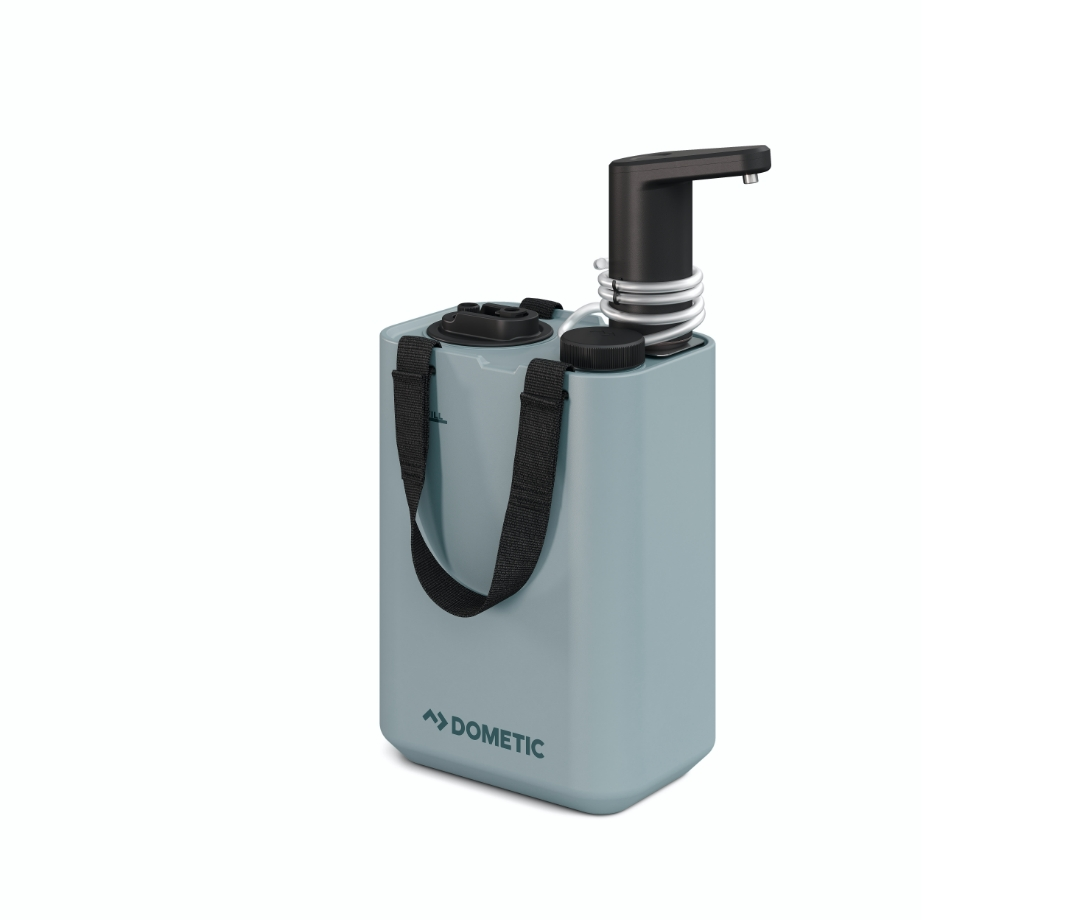 HYP-WF Hydration Water Faucet mounted on the HYD-J11 Hydration Water Jug