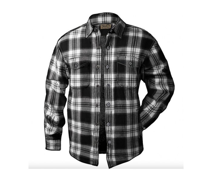 Duluth Trading Co. Flapjack Fleece-Lined Relaxed Fit Shirt Jac