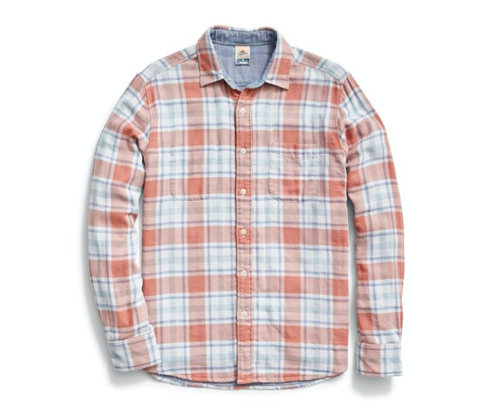 Faherty Reversible Shirt flannel shirts for men