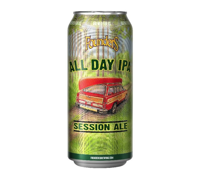 Can of Founders All Day IPA beer