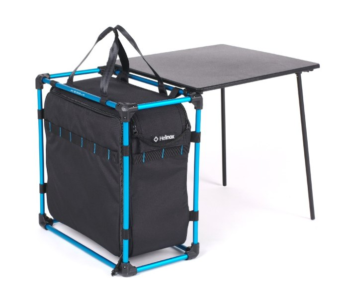 A Helinox Field Office table and bag.