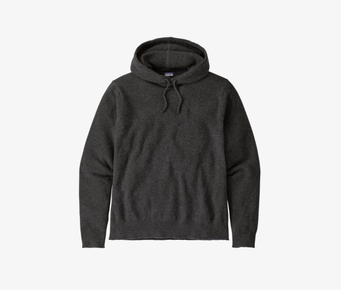 Patagonia Recycled Cashmere Hoody Pullover men's sweaters