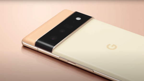 Google Pixel 6 phone featured in a new trailer