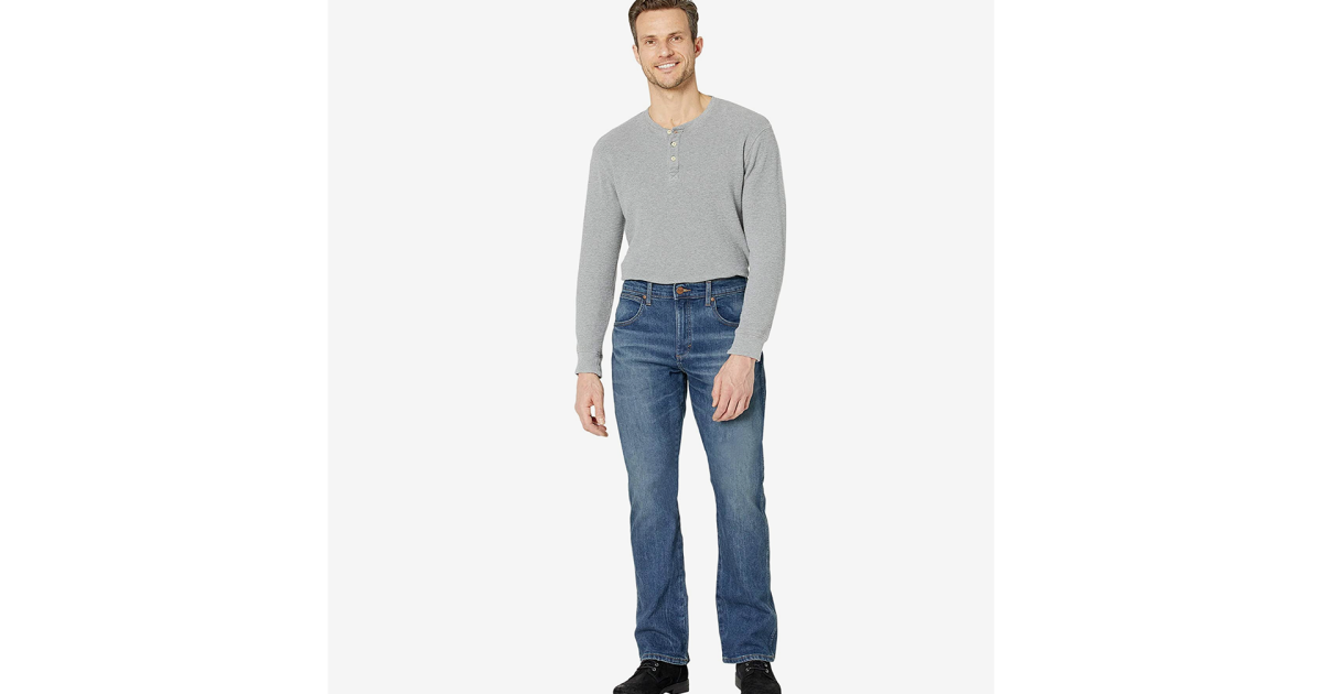Get Yourself A New Pair of Wrangler Jeans on Sale at Zappos Today