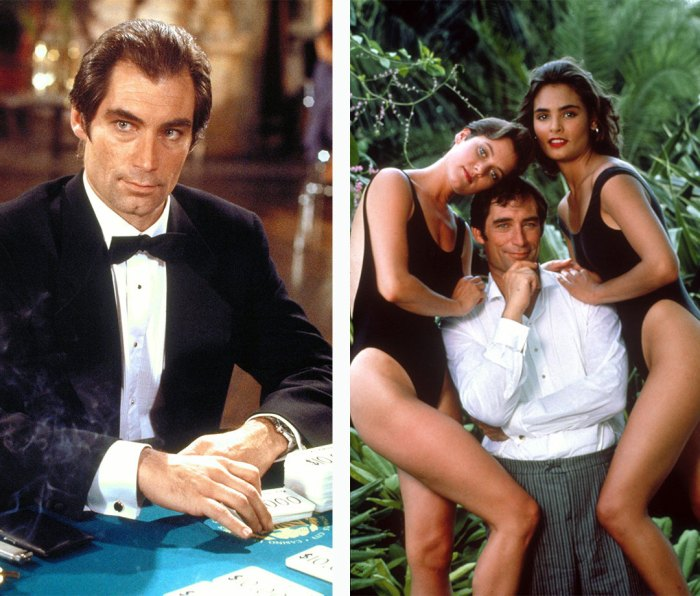 Carey Lowell, Timothy Dalton, and Talisa Soto in 'Licence to Kill'