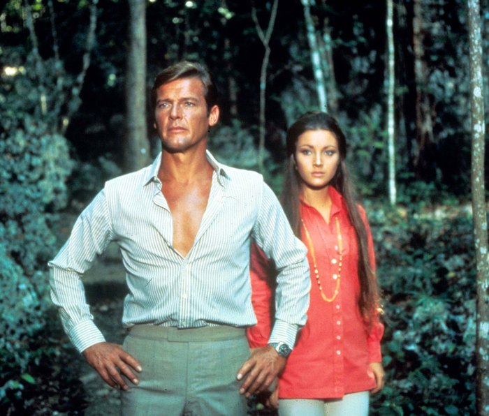 Roger Moore and Jane Seymour in 'Live And Let Die'
